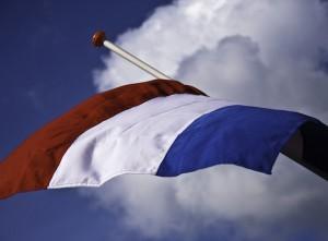Vlag (NL) halfstok